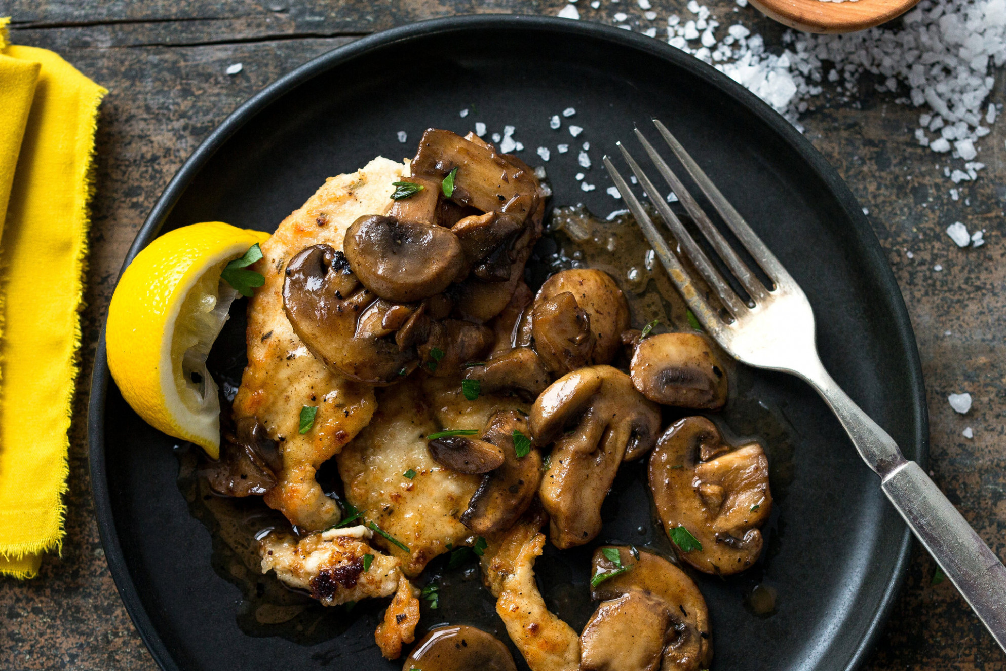 40 Healthy Chicken Recipes For The Entire Family - healthy recipes with mushrooms
