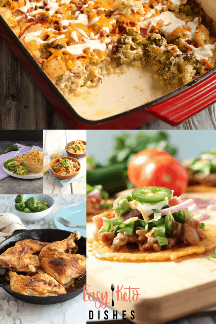 40 Keto Friendly Chicken Dishes -www.easyketodishes