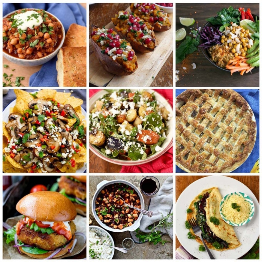 40 Recipes To Try During National Vegetarian Week - Hungry ..