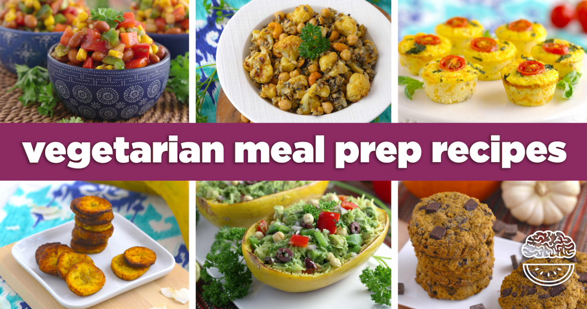 40 Vegetarian Meal Prep Recipes | Mind Over Munch - recipes vegetarian meal prep