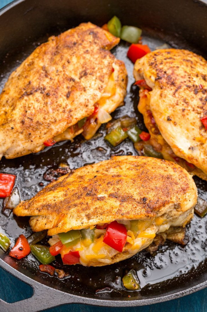 400 best Easy Chicken Recipes images on Pinterest - recipes stuffed chicken breast