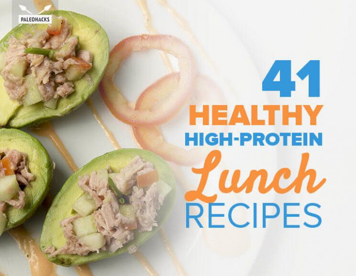41 Healthy High-Protein Lunch Recipes | Soups, Salads ..