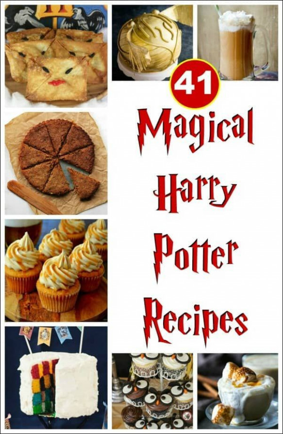 41 Magical Harry Potter Recipes | Kids Birthday Party ..
