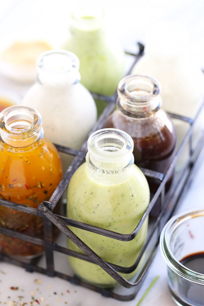 42 Easy Salad Dressing Recipes - Fit Foodie Finds - Recipes Salad Dressings Healthy