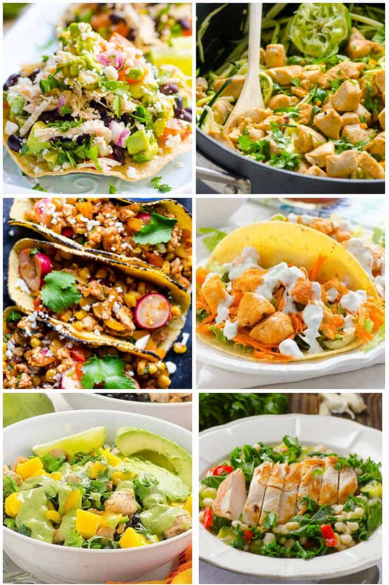 45 Easy Healthy Dinner Ideas (Simple Ingredients ..