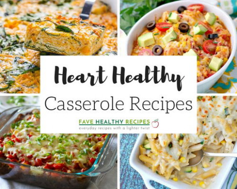 46 Heart Healthy Casserole Recipes | FaveHealthyRecipes