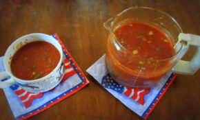 4th Of July Gazpacho – Recipe Vegetarian Worcestershire Sauce