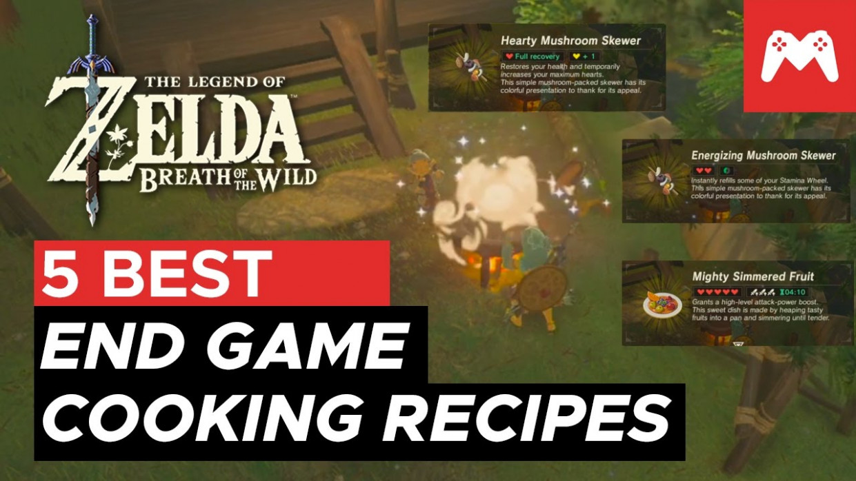 5 Best End Game Cooking Recipes | Zelda: Breath of the ..