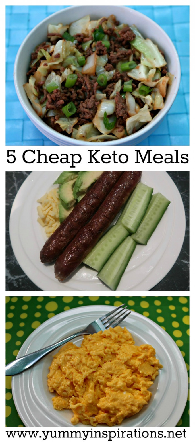5 Cheap Keto Meals - Low Carb Keto Diet Foods On A Budget - dinner recipes on a budget