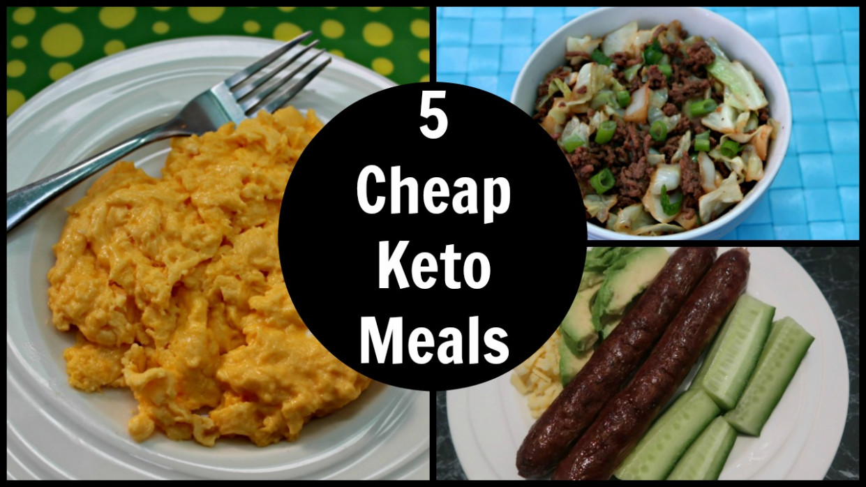 5 Cheap Keto Meals - Low Carb Keto Diet Foods On A Budget - recipes low budget healthy