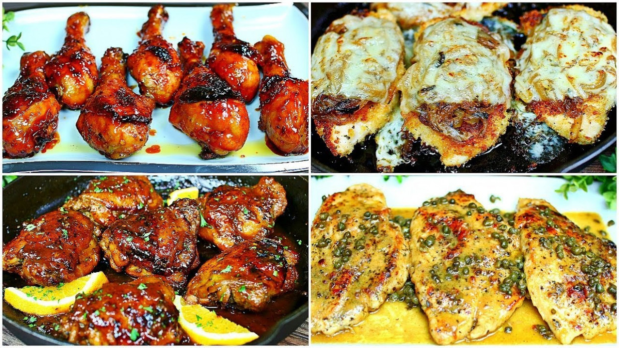 5 Easy Chicken Recipes - Chicken Dinner Recipes - YouTube - chicken recipes youtube