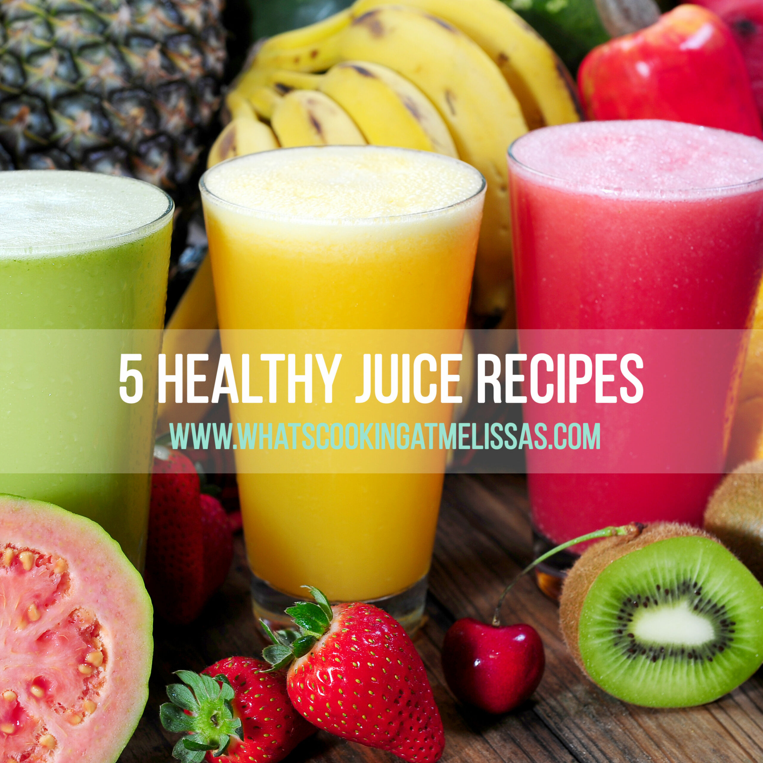 5 Healthy Juice Recipes | What's Cooking At Melissa's - Healthy Fruit Juice Recipes