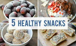 5 Healthy Snacks For Your Sweet Tooth – Fablunch – Recipes Snacks Healthy