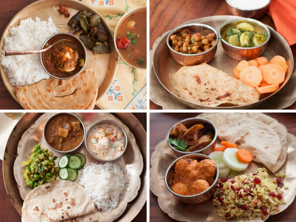 5 Indian Style Healthy Lunch/Dinner Plate Ideas by Archana ..