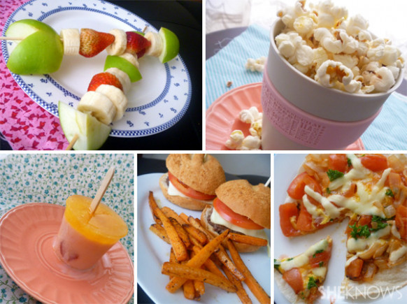 5 Kids' Junk Food Favourites Made Healthy - Healthy Recipes Junk Food