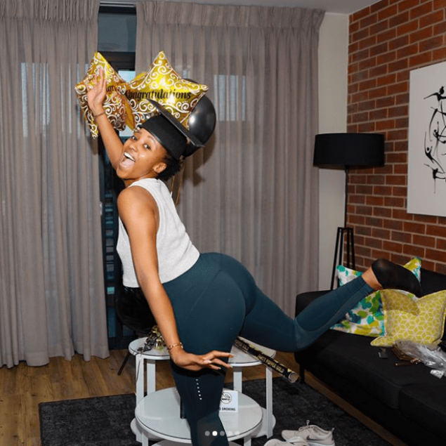 5 new pictures of fitness bunny Sbahle Mpisane you must ..