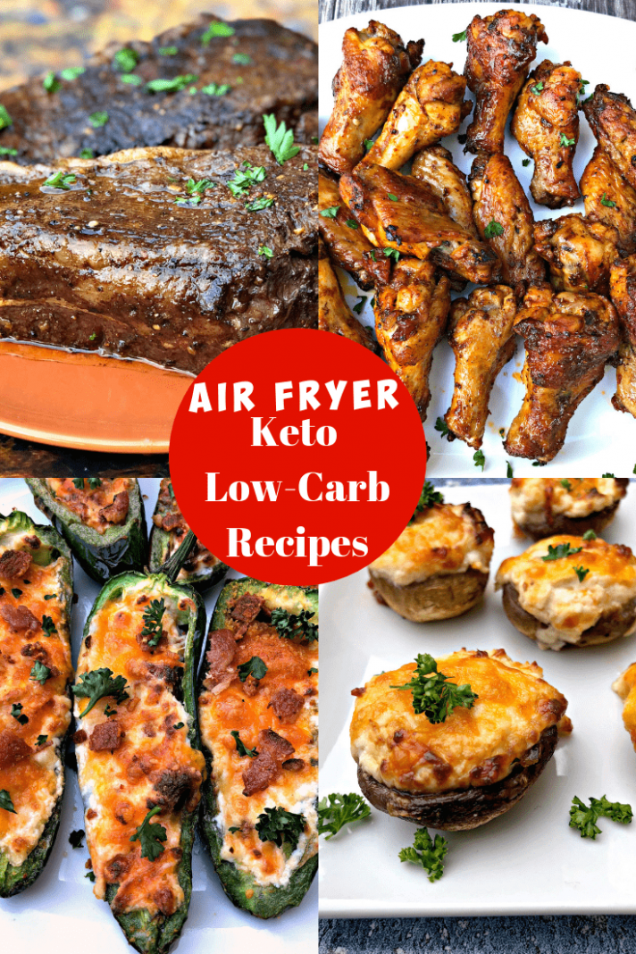 5 Quick and Easy Keto Low-Carb Air Fryer Recipes for Dinner - keto recipes dinner easy