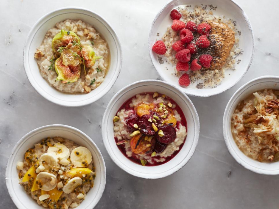 5 Sweet Oatmeal Bowl Recipes : Food Network | Healthy ..