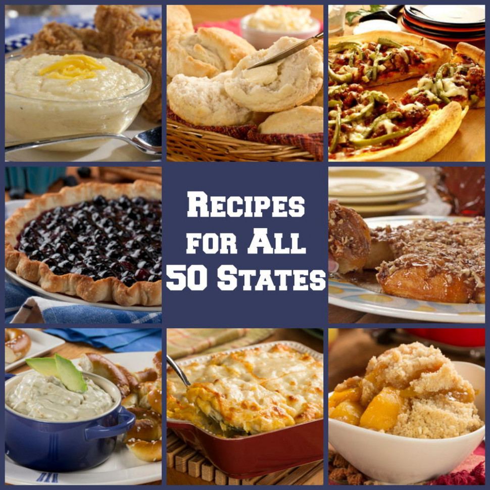 50 American Food Recipes for Each State | MrFood