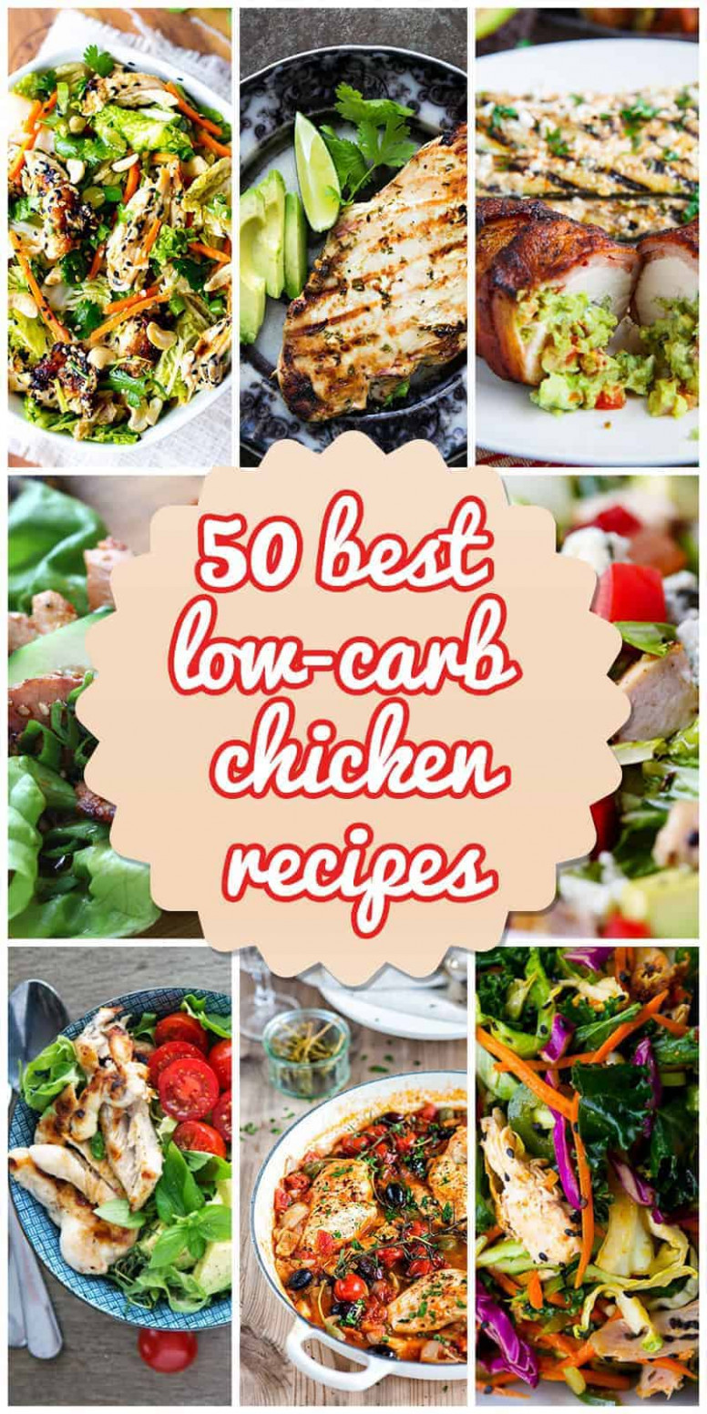50 Best Low-Carb Chicken Recipes for 2018 - chicken recipes low carb