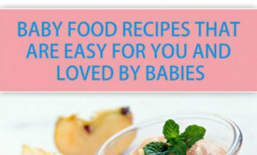 50 Delicious Homemade Baby Food Recipes: Baby Food Recipes – Homemade Baby Food Recipes