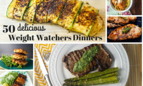 50 Delicious Weight Watchers Dinners – Slender Kitchen – Dinner Recipes Yummy
