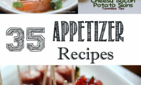 50+ Finger Food Appetizer Recipes Perfect For Holiday ..