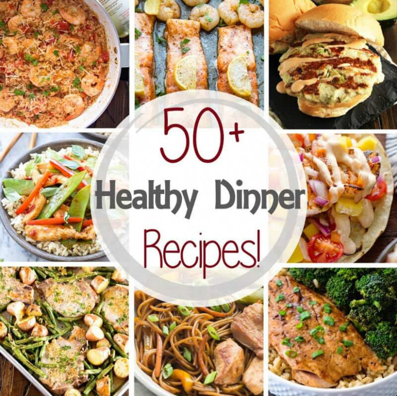 50+ Healthy Dinner Recipes in 30 Minutes! - Julie's Eats ...