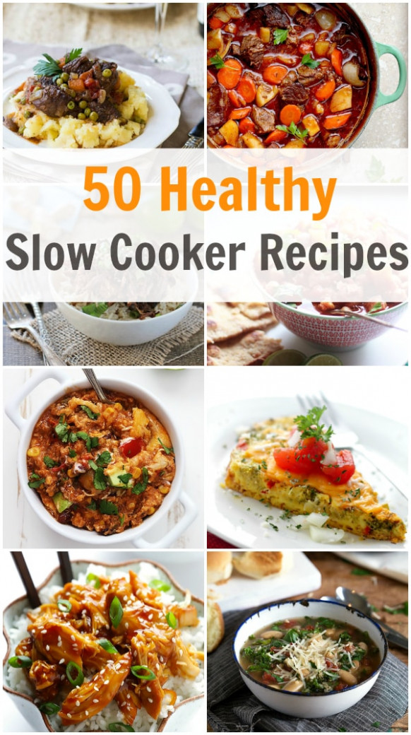 50 Healthy Slow Cooker Recipes - Primavera Kitchen - healthy recipes slow cooker