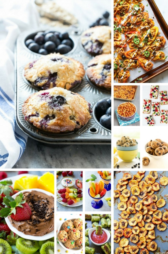 52 Healthy Snack Recipes - Dinner At The Zoo - Recipes Of Healthy Snacks