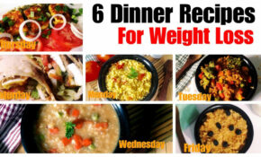 6 Healthy Vegetarian Dinner Recipes For Weight Loss ..