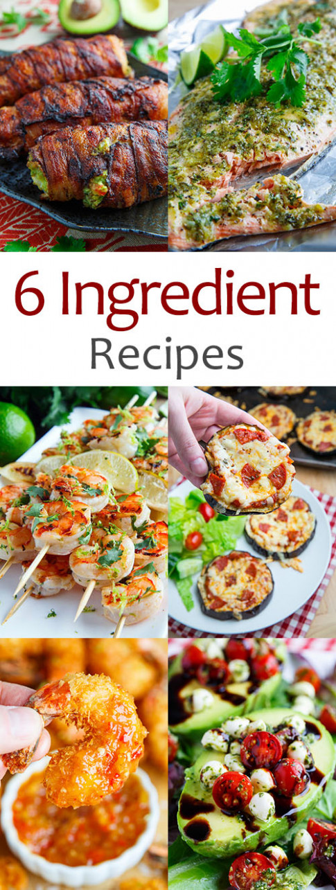 6 Ingredient Recipes Recipe on Closet Cooking - food recipes and ingredients