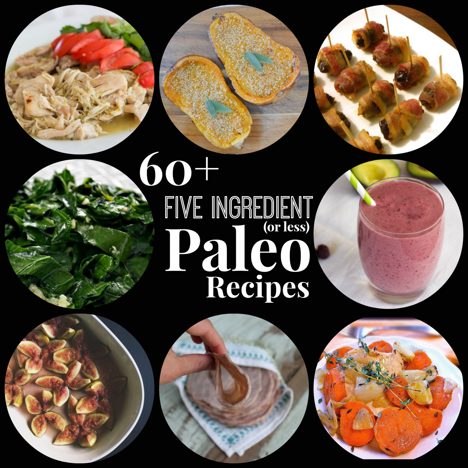 60+ Five Ingredient (or Less) Paleo Recipes - Rubies ..