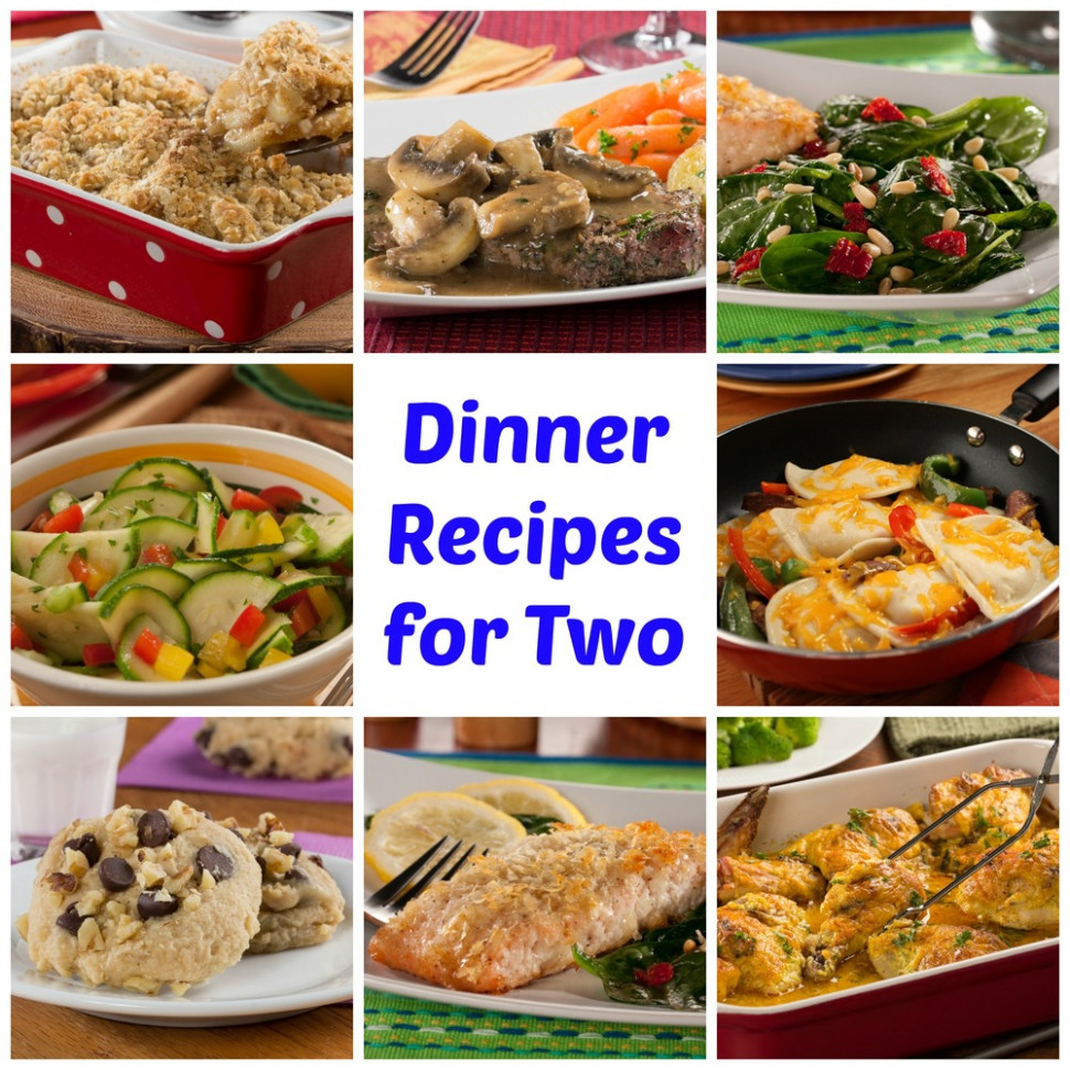 64 Easy Dinner Recipes for Two | MrFood