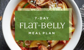 7 Day Flat Belly Meal Plan – EatingWell – Healthy Recipes Pdf
