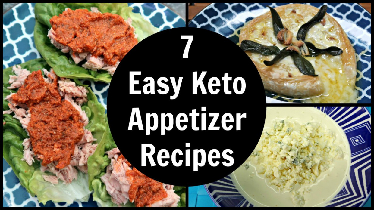 7 Easy Keto Appetizers Recipes - Simple Low Carb Appetizer ..
