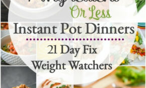 7 Ingredient Or Less Healthy Instant Pot Dinner Recipes ..