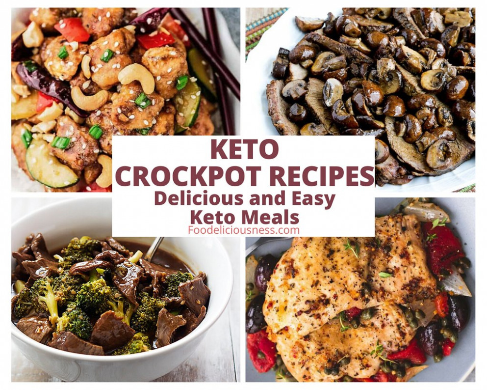 7 KETO CROCKPOT RECIPES - healthy easy crockpot recipes