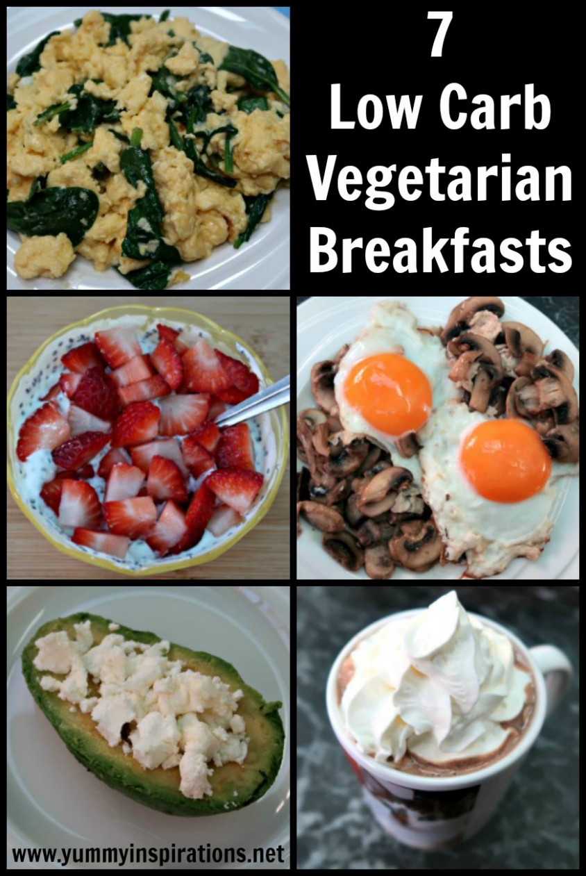 7 Keto Vegetarian Breakfast Recipes - Easy Low Carb Breakfasts - Zero Carb Vegetarian Recipes