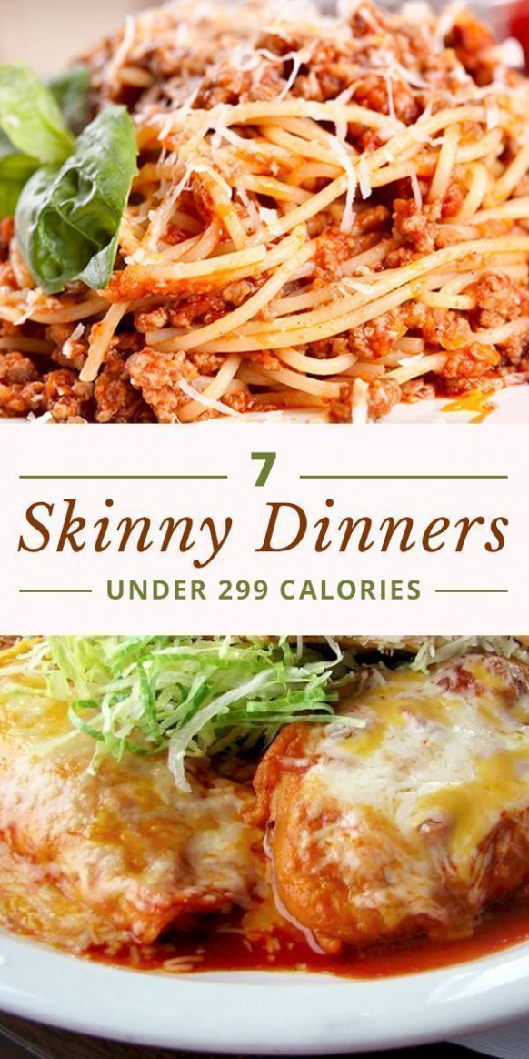 7 Skinny Dinners Under 299 Calories | Skinny Ms. Eats ..