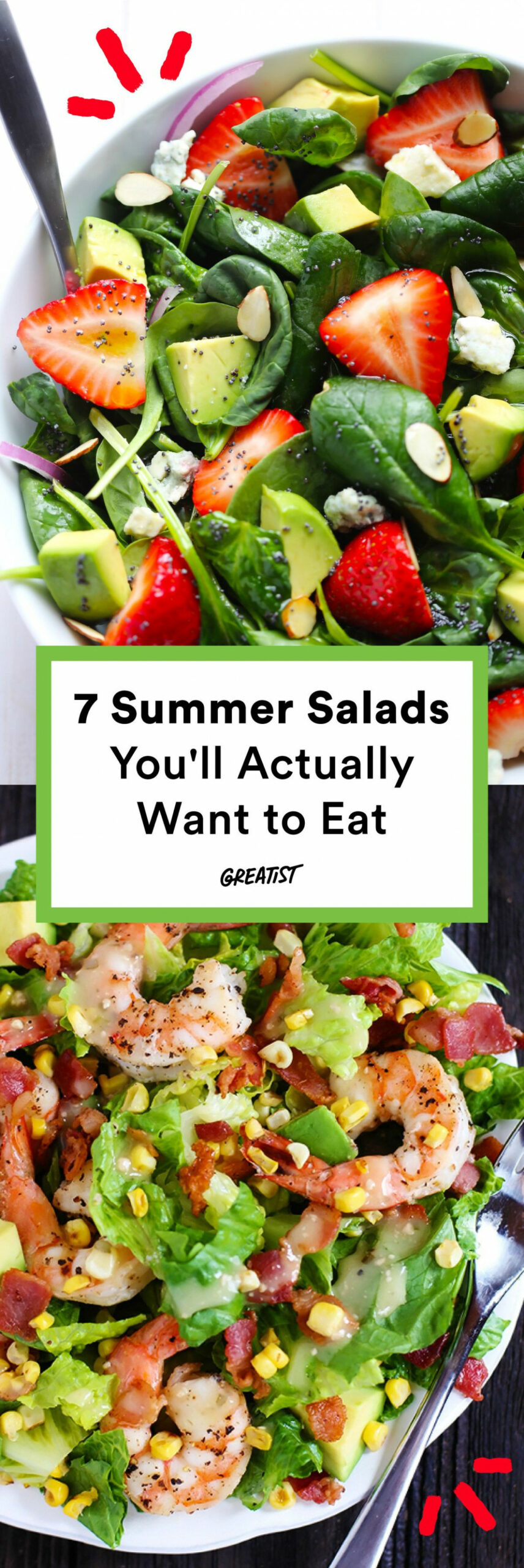 7 Summer Salads You'll Actually Want To Eat | Salads That ..