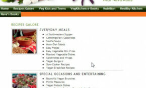 7 Vegetarian Recipe Sites For The Struggling Former Meat Eater – Recipes Vegetarian And Meat Eater