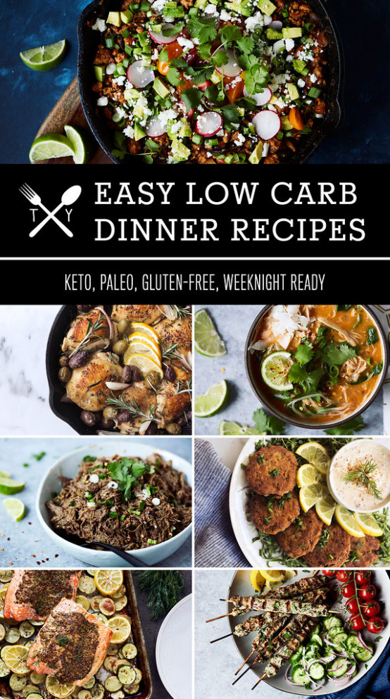 70+ Easy Low Carb Keto Dinner Recipes - Tasty Yummies - quick and easy keto dinner recipes