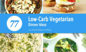 77 Low Carb Vegetarian Dinner Ideas | KetoDiet Blog – Keto Vegetarian Recipes Dinner