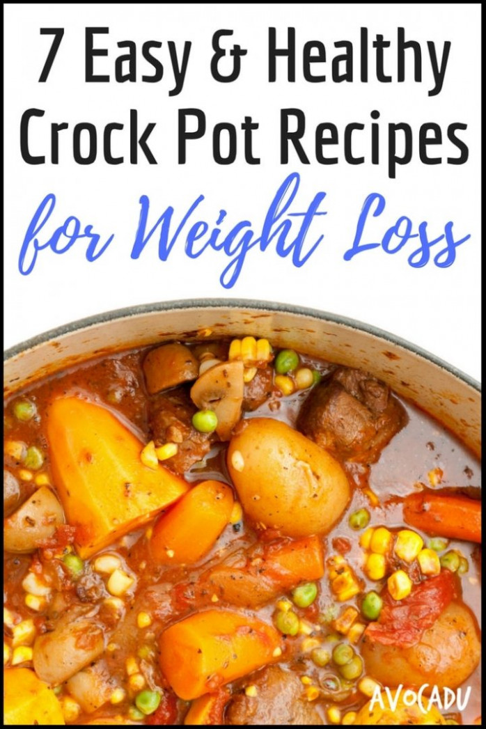 8 Easy and Healthy Crock Pot Recipes for Weight Loss | Avocadu - recipes in crock pot healthy
