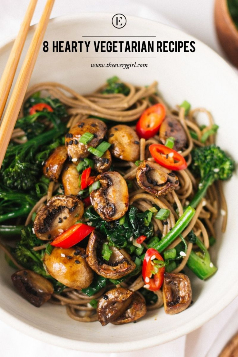 8 Hearty Vegetarian Recipes For Meatless Monday ..
