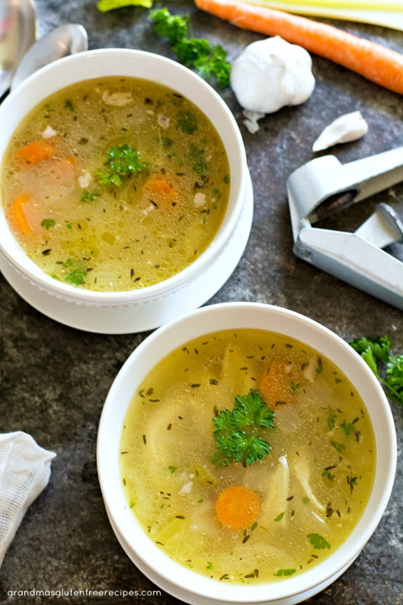 8 Ketogenic Chicken Soup Recipes - Primal Edge Health - recipes of chicken soup