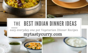 8 One Pot Vegetarian Indian Dinner Recipes – My Tasty Curry – Recipes For Dinner Indian
