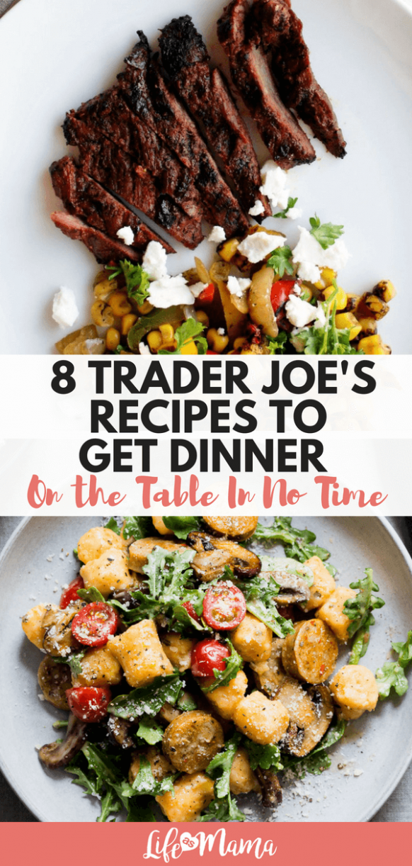 8 Trader Joe's Recipes To Get Dinner On The Table In No Time - Trader Joe's Recipes Dinner