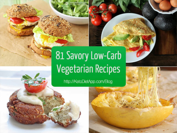 81 Delicious Savory Low-Carb Vegetarian Recipes | KetoDiet ..